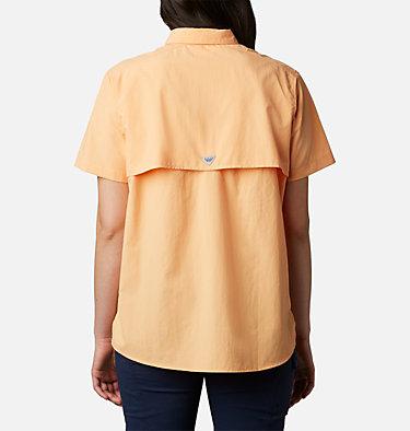 Women's PFG Bahama™ Short Sleeve Shirt Womens Bahama™ SS | 475 | XS, Light Juice, back
