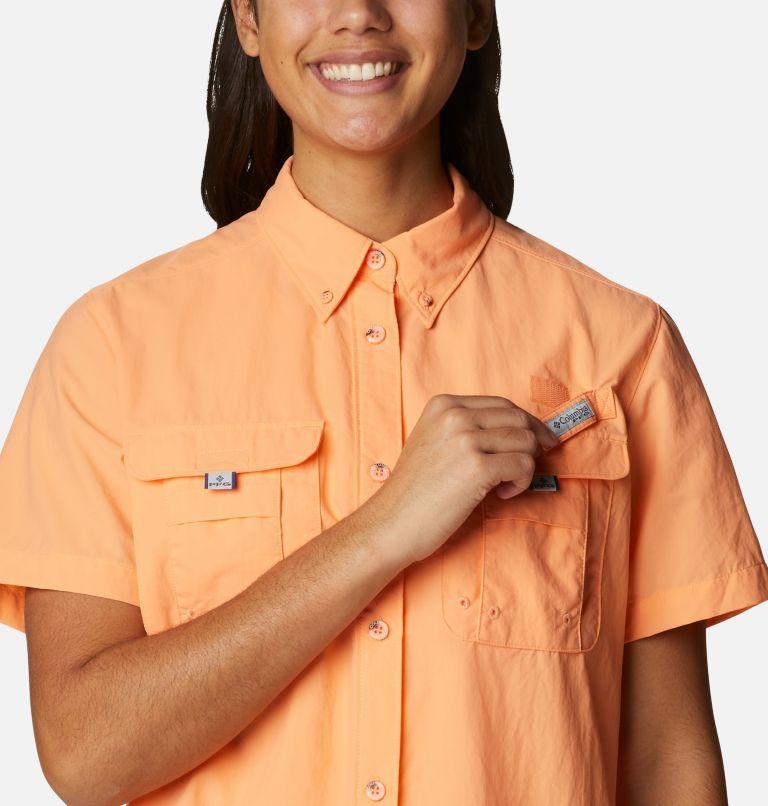 Womens Bahama™ SS | 873 | S Women's PFG Bahama™ Short Sleeve Shirt, Bright Nectar, a2