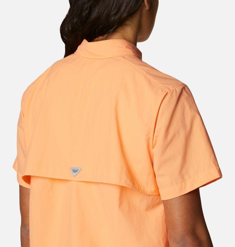 Womens Bahama™ SS | 873 | S Women's PFG Bahama™ Short Sleeve Shirt, Bright Nectar, a3