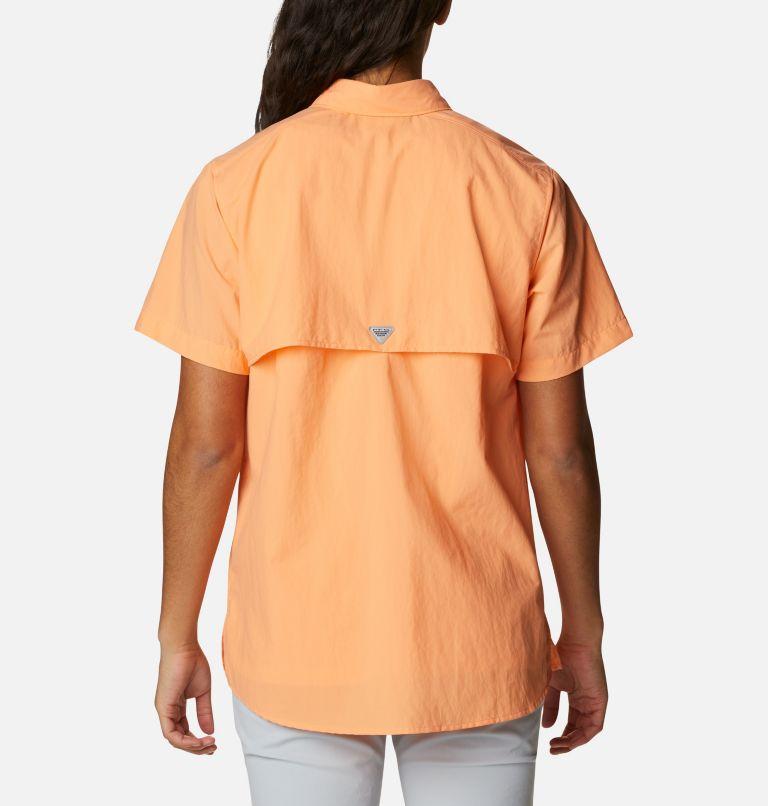 Womens Bahama™ SS | 873 | S Women's PFG Bahama™ Short Sleeve Shirt, Bright Nectar, back