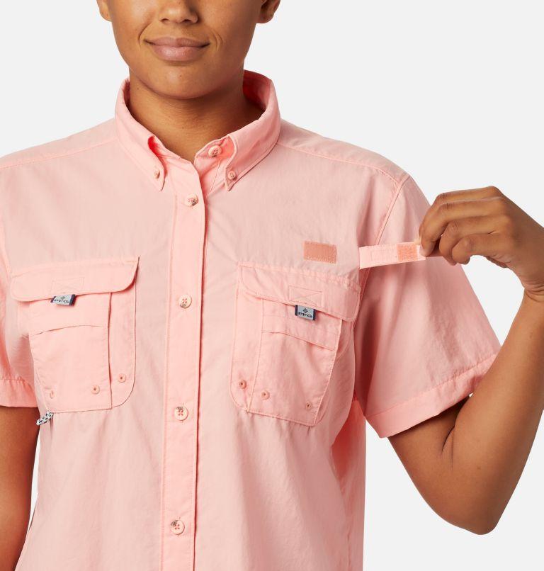 Womens Bahama™ SS | 884 | M Women's PFG Bahama™ Short Sleeve Shirt, Tiki Pink, a2