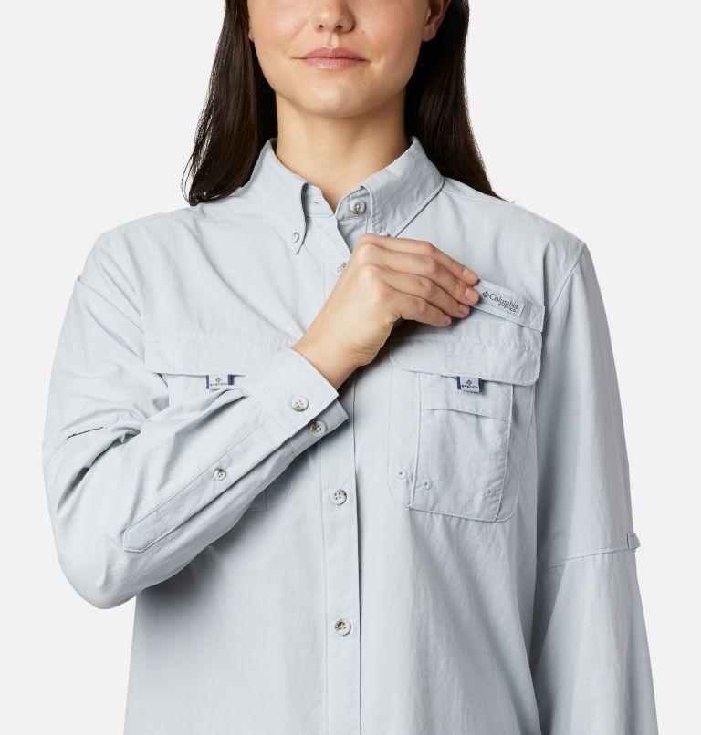 Womens Bahama™ LS | 031 | M Women's PFG Bahama™ Long Sleeve Shirt, Cirrus Grey, a1