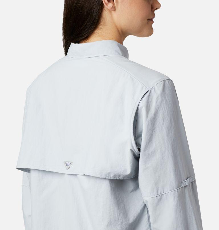 Womens Bahama™ LS | 031 | M Women's PFG Bahama™ Long Sleeve Shirt, Cirrus Grey, a2