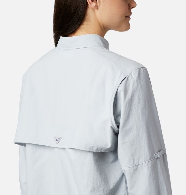 Womens Bahama™ LS | 031 | XS Women's PFG Bahama™ Long Sleeve Shirt, Cirrus Grey, a2