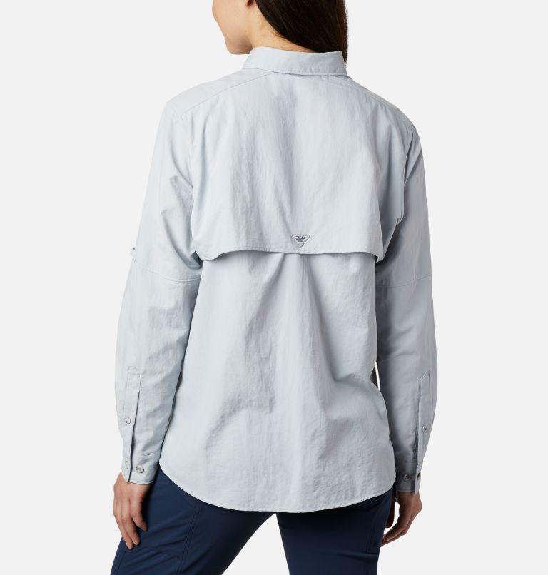 Womens Bahama™ LS | 031 | M Women's PFG Bahama™ Long Sleeve Shirt, Cirrus Grey, back