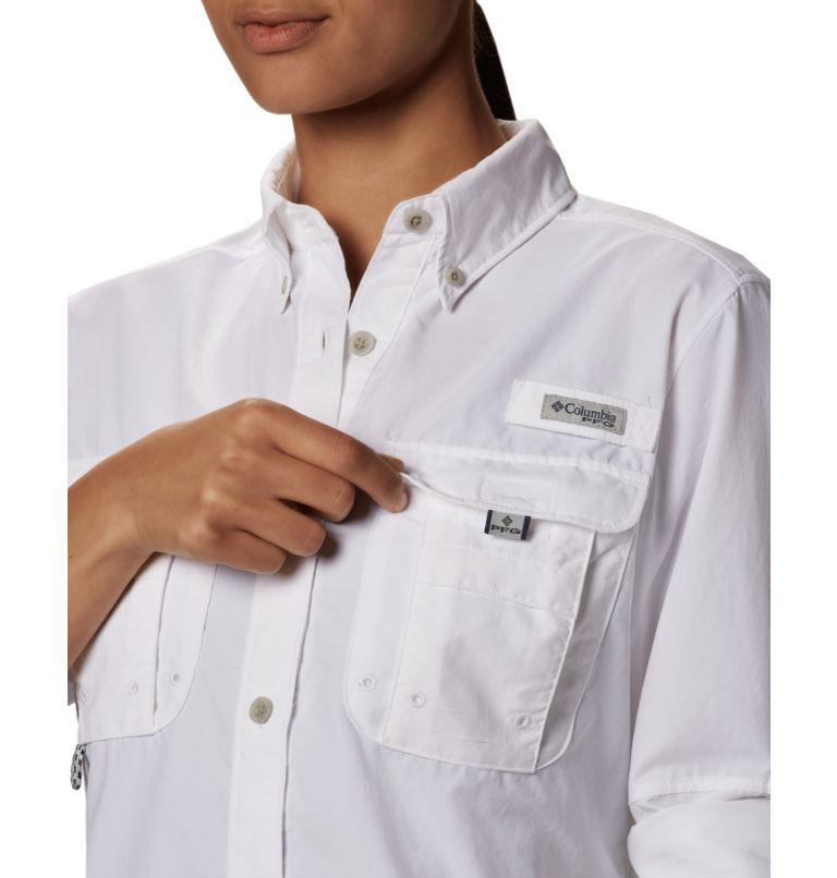 Womens Bahama™ LS | 100 | L Women's PFG Bahama™ Long Sleeve Shirt, White, a5