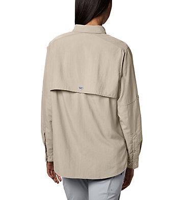 Women's PFG Bahama™ Long Sleeve Shirt Womens Bahama™ LS   856   M, Fossil, back