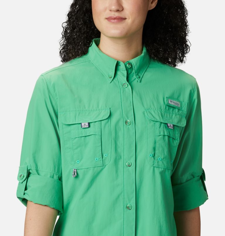 Womens Bahama™ LS | 322 | XS Women's PFG Bahama™ Long Sleeve Shirt, Emerald City, a2