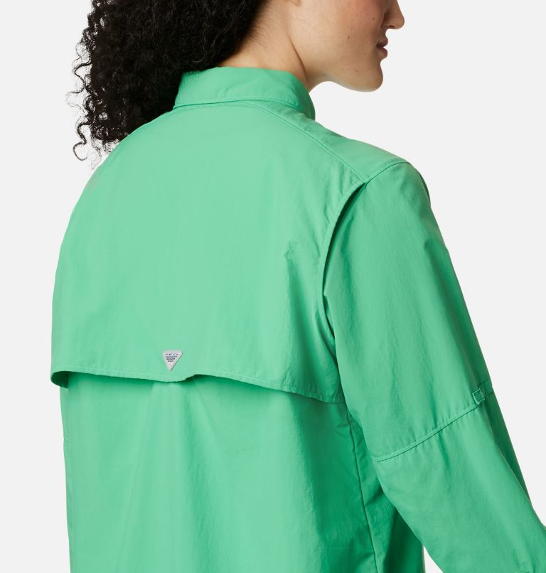 Womens Bahama™ LS | 322 | XS Women's PFG Bahama™ Long Sleeve Shirt, Emerald City, a3