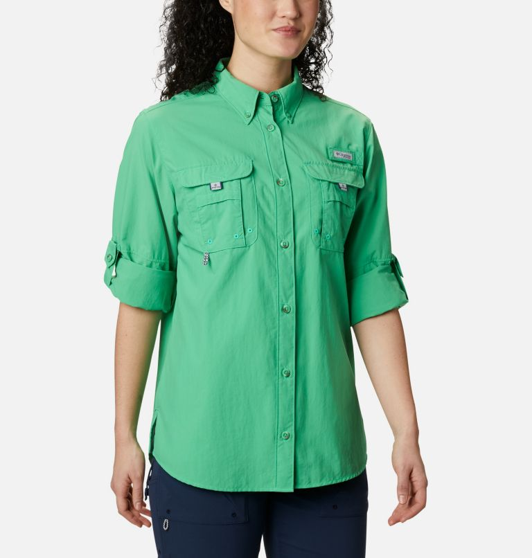 Womens Bahama™ LS | 322 | XS Women's PFG Bahama™ Long Sleeve Shirt, Emerald City, a5