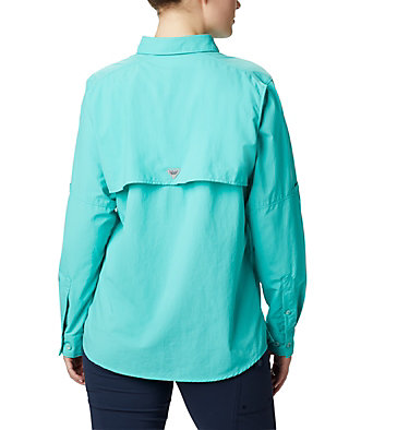 Women's PFG Bahama™ Long Sleeve Shirt Womens Bahama™ LS | 856 | M, Dolphin, back