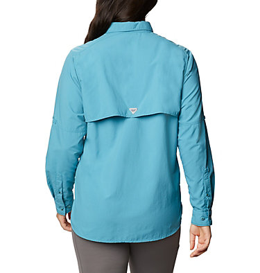 Women's PFG Bahama™ Long Sleeve Shirt Womens Bahama™ LS | 856 | M, Shasta, back
