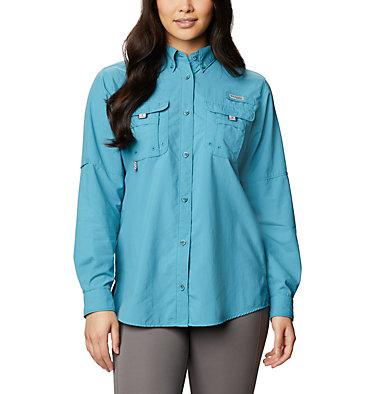 Women's PFG Bahama™ Long Sleeve Shirt Womens Bahama™ LS | 856 | M, Shasta, front