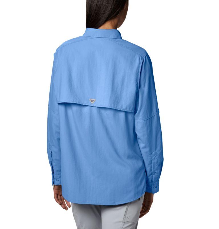 Womens Bahama™ LS   450   L Women's PFG Bahama™ Long Sleeve Shirt, White Cap, back