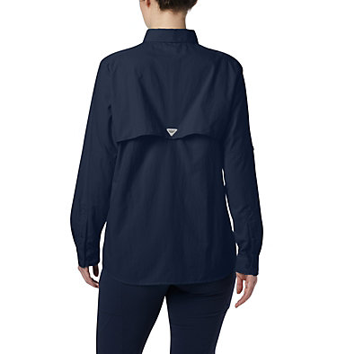 Women's PFG Bahama™ Long Sleeve Shirt Womens Bahama™ LS   856   M, Collegiate Navy, back