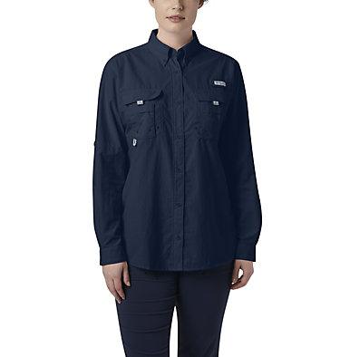 Women's PFG Bahama™ Long Sleeve Shirt Womens Bahama™ LS   856   M, Collegiate Navy, front