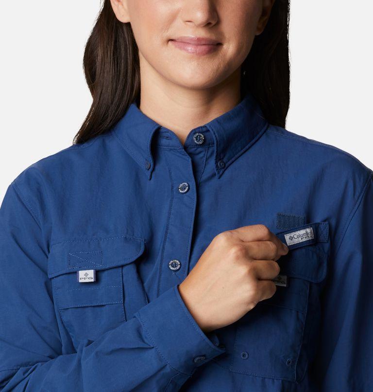 Womens Bahama™ LS | 469 | M Women's PFG Bahama™ Long Sleeve Shirt, Carbon, a2