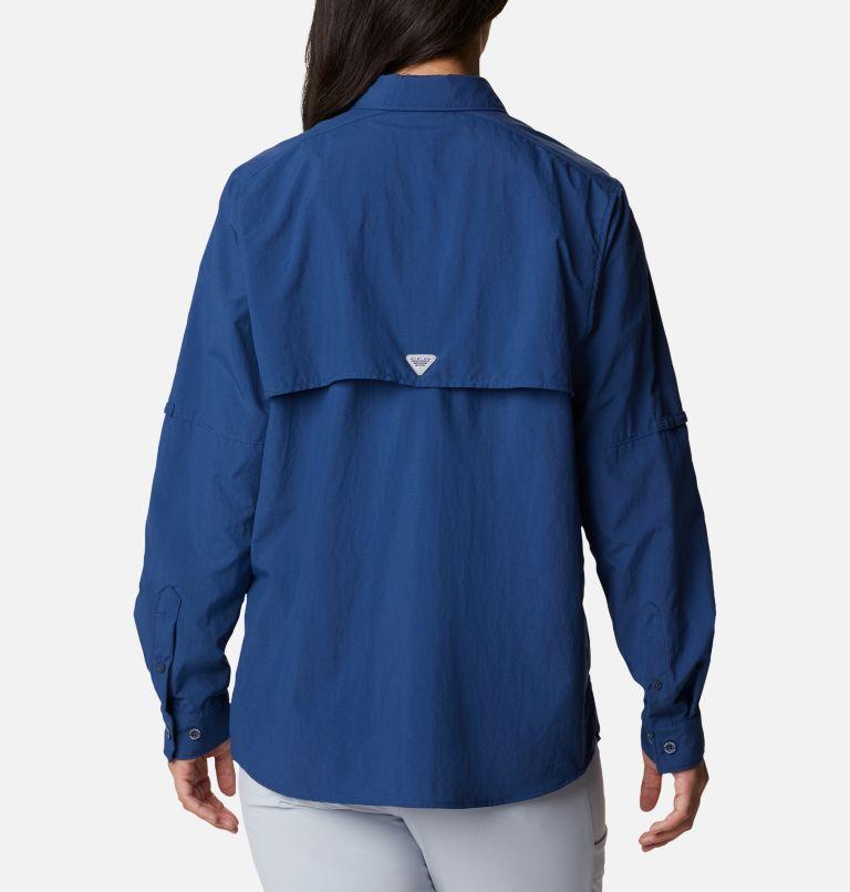 Womens Bahama™ LS | 469 | M Women's PFG Bahama™ Long Sleeve Shirt, Carbon, back