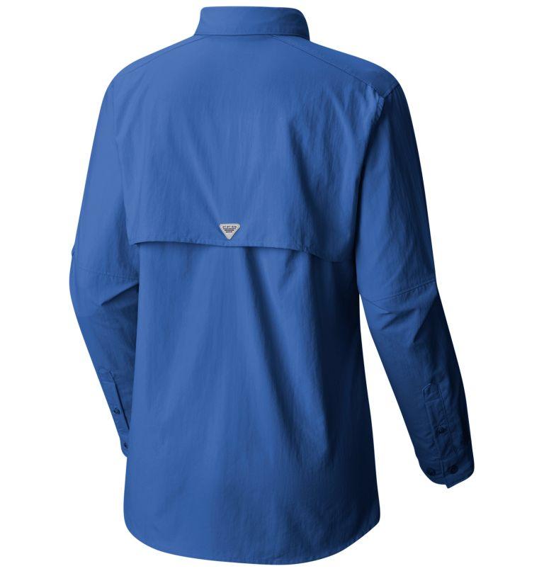 Womens Bahama™ LS   487   L Women's PFG Bahama™ Long Sleeve Shirt, Vivid Blue, back