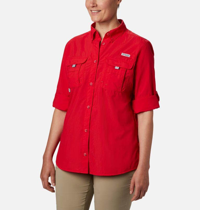 Womens Bahama™ LS | 658 | M Women's PFG Bahama™ Long Sleeve Shirt, Red Lily, a1