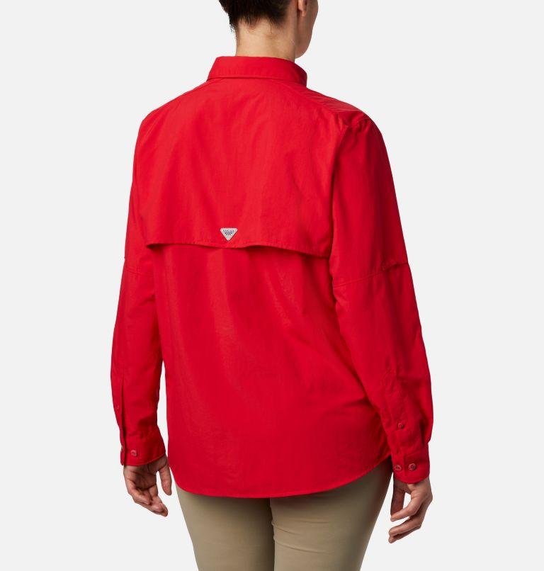 Womens Bahama™ LS | 658 | L Women's PFG Bahama™ Long Sleeve Shirt, Red Lily, back