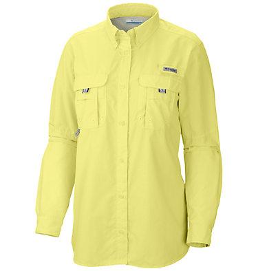 Women's PFG Bahama™ Long Sleeve Shirt Womens Bahama™ LS | 856 | M, Sunnyside, front