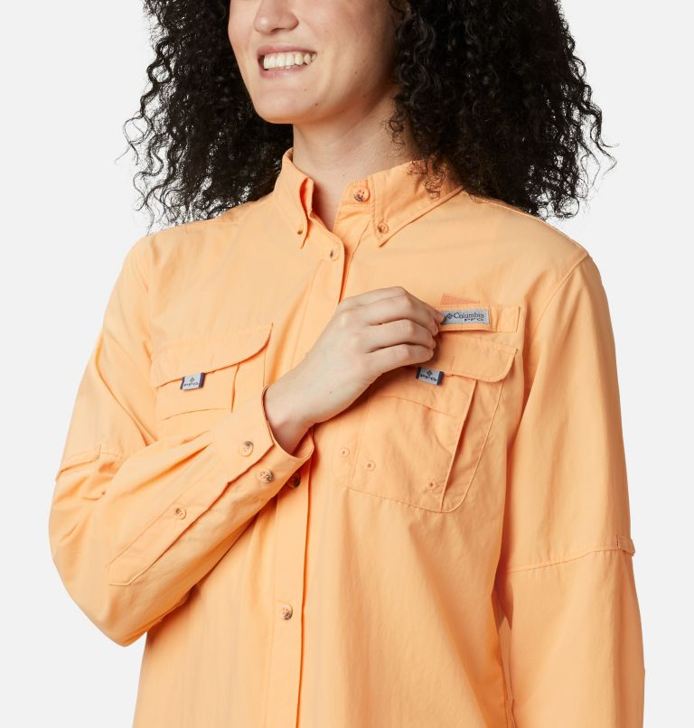 Womens Bahama™ LS | 856 | XS Women's PFG Bahama™ Long Sleeve Shirt, Light Juice, a4
