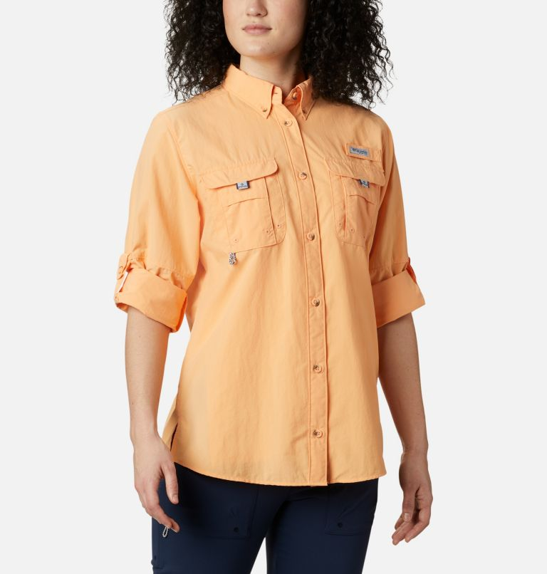 Womens Bahama™ LS | 856 | XS Women's PFG Bahama™ Long Sleeve Shirt, Light Juice, a5