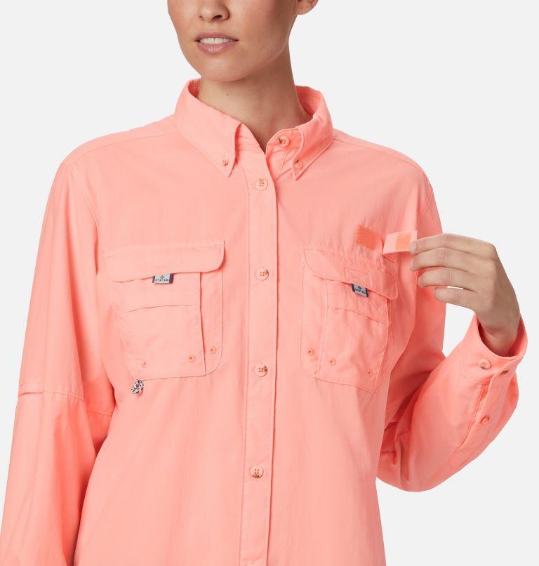 Womens Bahama™ LS | 884 | L Women's PFG Bahama™ Long Sleeve Shirt, Tiki Pink, a2