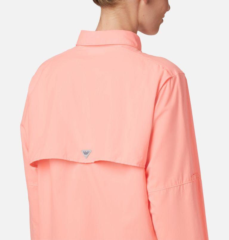 Womens Bahama™ LS | 884 | L Women's PFG Bahama™ Long Sleeve Shirt, Tiki Pink, a3