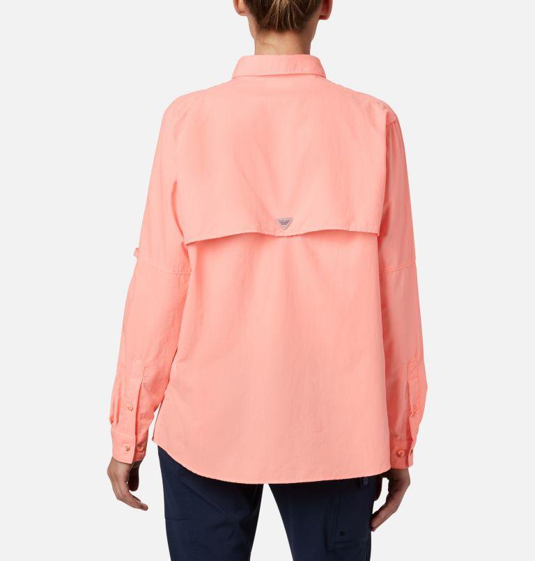 Womens Bahama™ LS | 884 | L Women's PFG Bahama™ Long Sleeve Shirt, Tiki Pink, back