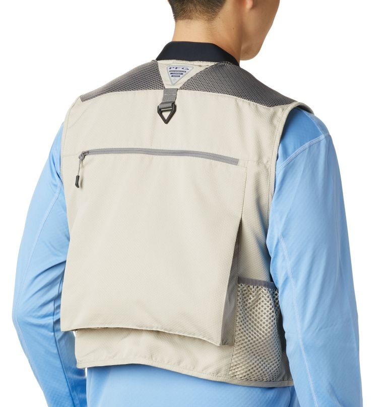 Henry's Fork™ V Vest | 160 | M Men's PFG Henry's Fork™ V Vest, Fossil, a4