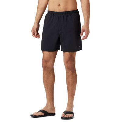 Mens Landscape Field Sky Quick Drying Ultra Light Short Pants Swim Trunks
