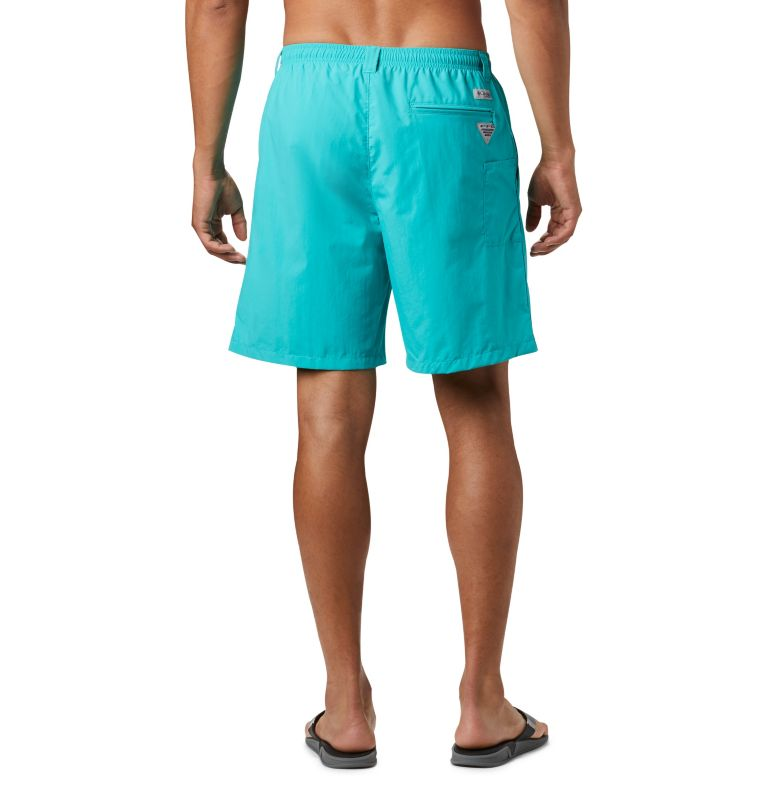 Backcast™ III Water Short | 454 | S Men's PFG Backcast III™ Water Shorts, Bright Aqua, back
