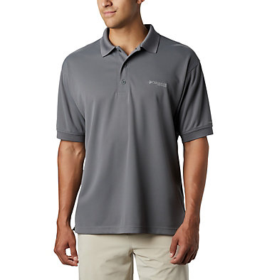 Men's PFG Perfect Cast™ Polo Perfect Cast™ Polo Shirt | 010 | XS, City Grey, front