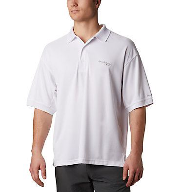 Men's PFG Perfect Cast™ Polo Perfect Cast™ Polo Shirt | 010 | XS, White, front