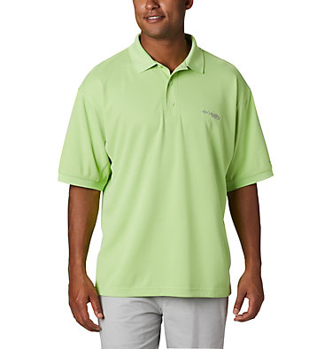 Men's PFG Perfect Cast™ Polo Perfect Cast™ Polo Shirt | 010 | XS, Jade Lime, front