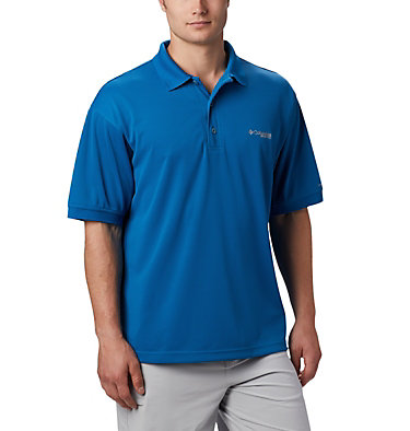 Men's PFG Perfect Cast™ Polo Perfect Cast™ Polo Shirt | 010 | XS, Dark Pool, front