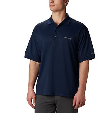 Men's PFG Perfect Cast™ Polo Perfect Cast™ Polo Shirt | 010 | XS, Collegiate Navy, front