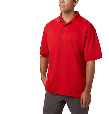 Men's PFG Perfect Cast™ Polo Perfect Cast™ Polo Shirt | 010 | XS, Red Spark, front