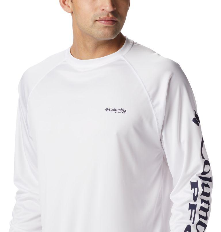 Terminal Tackle™ LS Shirt   114   L Men's PFG Terminal Tackle™ Long Sleeve Shirt, White, Nightshade Logo, a5