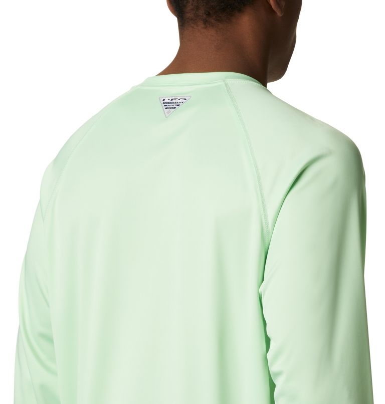 Terminal Tackle™ LS Shirt | 376 | S Men's PFG Terminal Tackle™ Long Sleeve Shirt, Key West, Vivid Blue Logo, a3