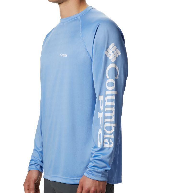 Terminal Tackle™ LS Shirt   459   XL Men's PFG Terminal Tackle™ Long Sleeve Shirt, White Cap, White Logo, a1
