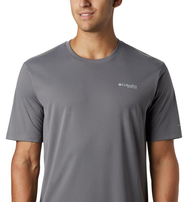 PFG ZERO Rules™ SS Shirt | 023 | L Men's PFG Zero Rules™ Short Sleeve Shirt, City Grey, a1