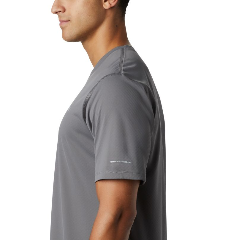 PFG ZERO Rules™ SS Shirt | 023 | L Men's PFG Zero Rules™ Short Sleeve Shirt, City Grey, a2