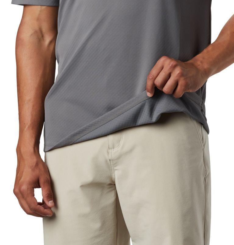 PFG ZERO Rules™ SS Shirt | 023 | L Men's PFG Zero Rules™ Short Sleeve Shirt, City Grey, a3