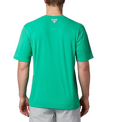 Men's PFG Zero Rules™ Short Sleeve Shirt PFG ZERO Rules™ SS Shirt | 469 | S, Dark Lime, back
