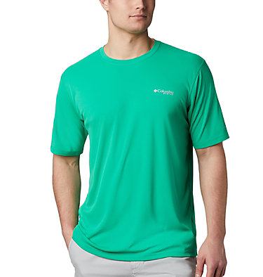 Men's PFG Zero Rules™ Short Sleeve Shirt PFG ZERO Rules™ SS Shirt | 469 | S, Dark Lime, front