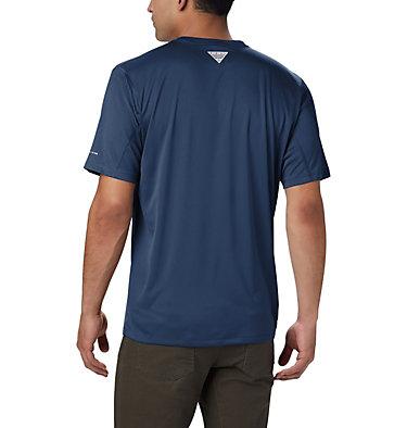 Men's PFG Zero Rules™ Short Sleeve Shirt PFG ZERO Rules™ SS Shirt | 469 | S, Carbon, back