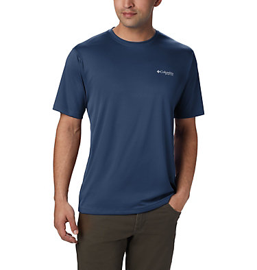 Men's PFG Zero Rules™ Short Sleeve Shirt PFG ZERO Rules™ SS Shirt | 469 | S, Carbon, front